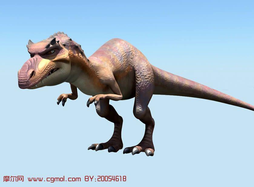 3 恐龙的黎明 中的恐龙maya模型 有贴图 卡通角色 动画角色 高清图片