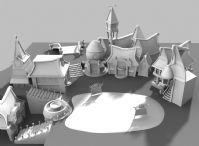 一个maya精致场景模型