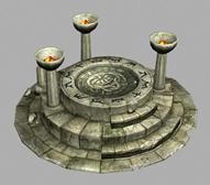 《泰坦之旅》的传送阵,3D游戏场景建筑模型