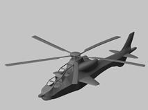 武直-10,武装直升机3D模型
