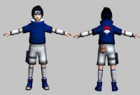 火影忍者之佐助3D模型