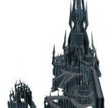 冰冠要塞,阿尔萨斯的老巢,3D场景模型