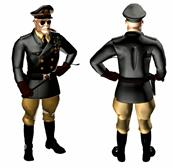 军人,军官,将军3d模型