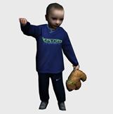 小男孩3d模型