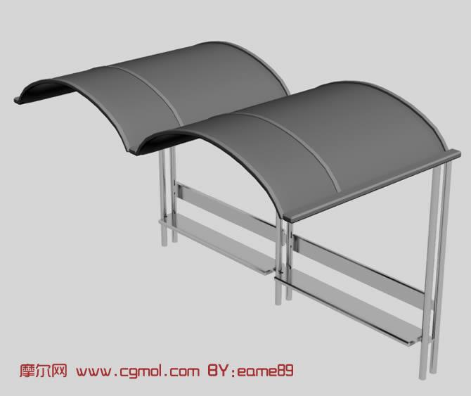 简易站台3d模型