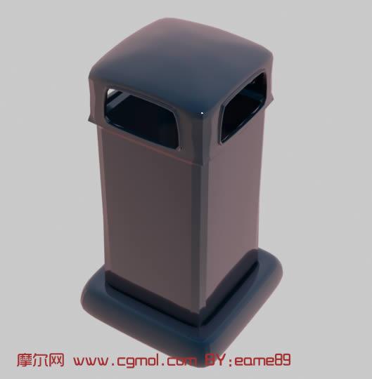 垃圾桶3d模型