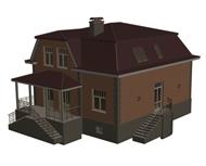 住宅,别墅3d模型