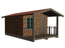 住宅,民房3d模型