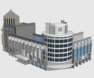 商业楼,大厦,CBD,商业区3d建筑模型