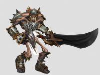 暗黑血统中的骨头小兵3D模型