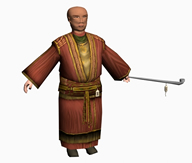 李老豆 豆浆店老板,3D人物模型