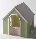 狗屋3D模型