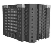大楼,3d建筑模型
