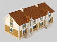 住宅楼,别墅3d模型