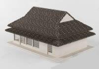 民宅,民房,房子,3d建筑模型