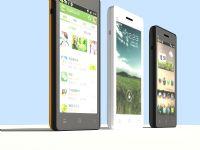 小米手机MIUI 3D模型