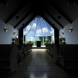 婚礼装饰的教堂3D模型