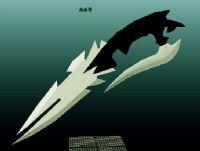 匕首3D模型