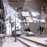 超真实《盗梦空间》电影大场景制作,maya场景模型