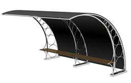 园林长椅,休息长椅3d模型