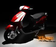 电动车,助力车,电力车3D模型