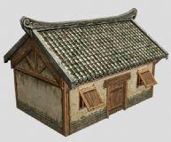 民房,房屋,房子3d模型