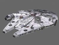 《星球大战》 Millennium Falcon 千年隼号飞船3D模型