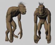 maya四足怪物模型