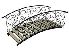 雕花设计的桥3d模型