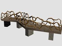 桥3d模型