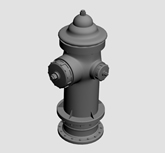 消防栓3d模型