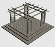 花架3d模型