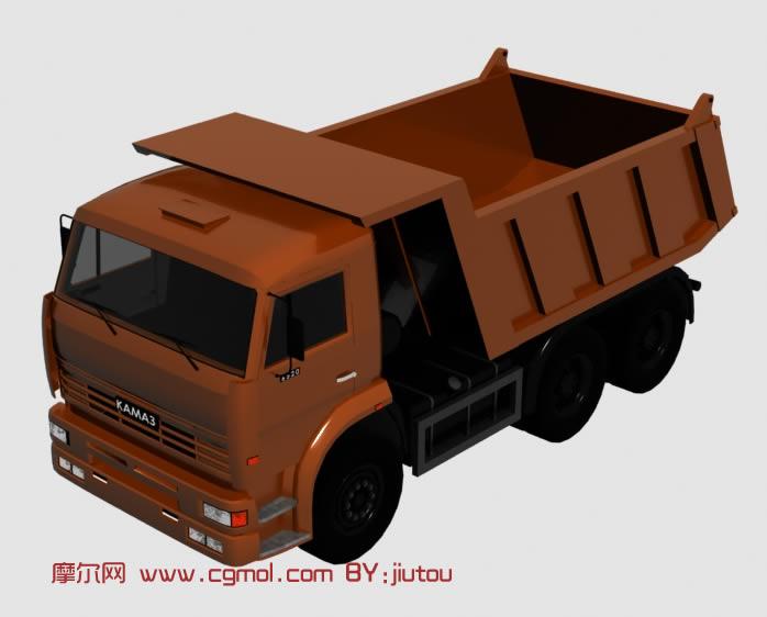 大卡车3d模型