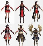 Irene,希腊女神,和平女神,max游戏角色模型
