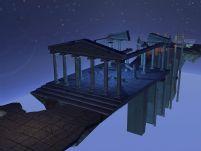 卫城,3d场景建筑模型