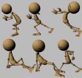 推箱子,经典人偶动作练习maya模型