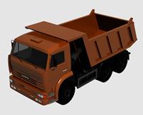 货车,泥土车,运输车,大卡车3d模型