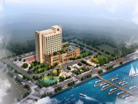 酒店,3d建筑场景模型