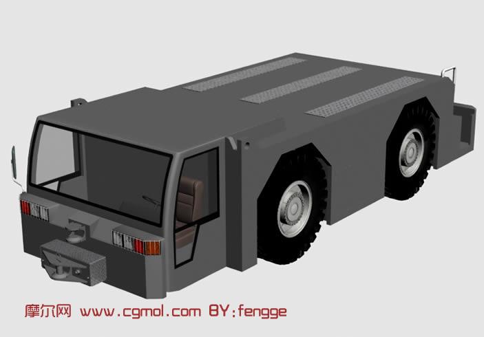 救援车3d模型