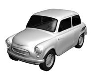 甲壳虫,老爷车,汽车3d模型