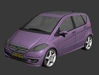 奔驰汽车3d模型