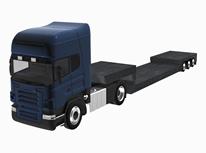 货车,卡车车头3d模型