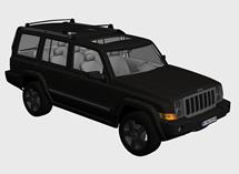 Jeep吉普汽车3d模型