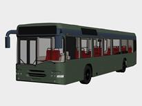 公交车 长途客车3D模型