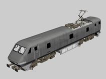 火车,动车,城际铁路快车3d模型