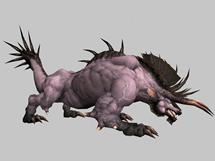 地狱兽,3d游戏怪物模型