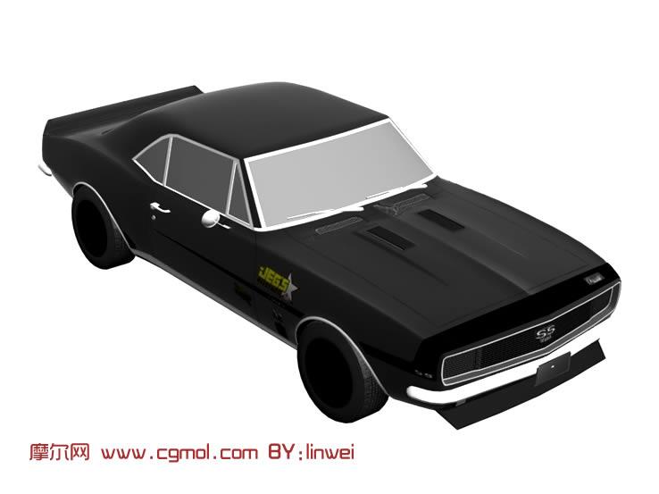 简易汽车3d模型
