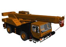 吊车3d模型