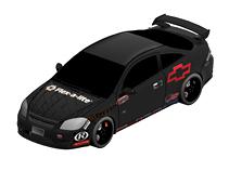 雪佛兰拉力车,跑车,汽车3d模型
