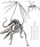 骨龙,骨架3d模型